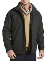 Oak Hill® Wool-Blend Bomber Jacket