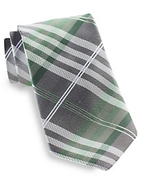 Geoffrey Beene® Petros Plaid II Silk Tie