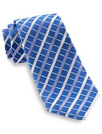 Geoffrey Beene® His Favorite Grid Silk Tie