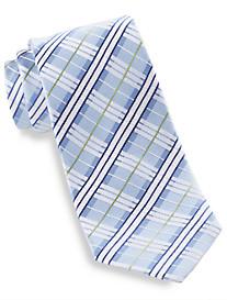 Geoffrey Beene® Plaid Alert Silk Tie