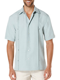 Cubavera® Reverse Box Pleat Sport Shirt