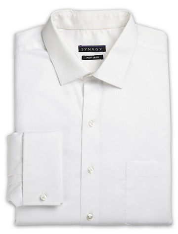 Synrgy® French-Cuff Dress Shirt - ( Mix & Match Geoffrey Beene, Gold Series & Synrgy Dress Shirts )