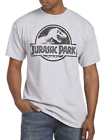 Jurassic Park Crackle Graphic Tee