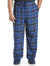 Harbor Bay® Plaid Flannel Lounge Pants