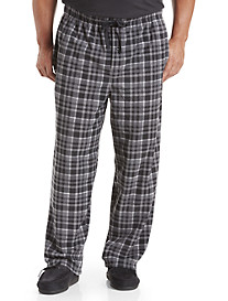 Harbor Bay® Plaid Microfleece Pants