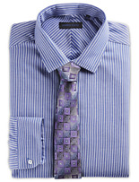 Andrew Fezza Bengal Stripe Dress Shirt