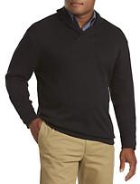 Oak Hill® Shawl-Collar Pullover