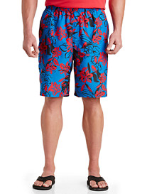 Island Passport® Floral Swim Trunks