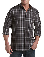 Synrgy® Large Multi-Plaid Sport Shirt