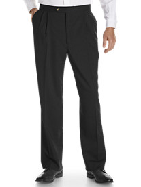 Sansabelt® Bengaline Pleated Trousers