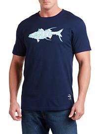 Nautica® Fish Diagram Tee