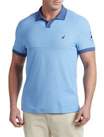 Nautica® Johnny-Collar Polo