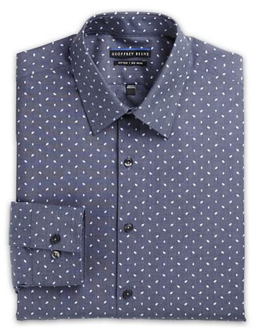 Geoffrey Beene® Leaf-Print Dress Shirt ( Mix & Match Geoffrey Beene, Gold Series & Synrgy Dress Shirts )