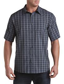 Synrgy® Medium Plaid Microfiber Sport Shirt