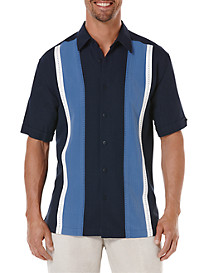 Cubavera® Paneled Sport Shirt