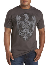 Tribal Ace Heraldic Graphic Tee