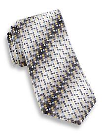 Andrew Fezza Small Dot Silk Tie