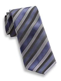 Andrew Fezza Satin Stripe Silk Tie