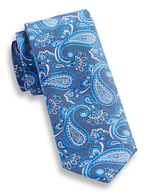 Andrew Fezza Large Floral Paisley Silk Tie