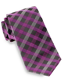 Synrgy™ Square Plaid Silk Tie
