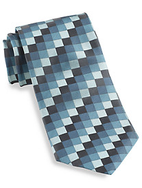 Synrgy™ Small Gingham Plaid Silk Tie