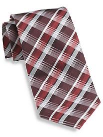 Synrgy™ Multi Stripe Plaid Silk Tie