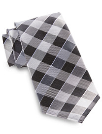 Synrgy® Large Gingham Plaid Silk Tie