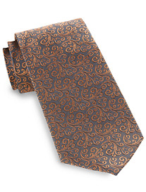 Synrgy® Small Vine Floral Silk Tie