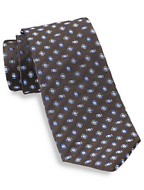 Geoffrey Beene® Rock On Medallion Silk Tie