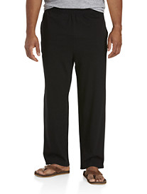Harbor Bay® Open-Hemmed Jersey Pants