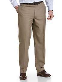 Geoffrey Beene® Textured Solid Flat-Front Suit Pants
