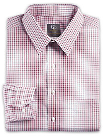 Gold Series® Non-Iron Wrinkle-Free Cool & Dry Check Dress Shirt