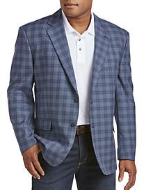 Oak Hill® Windowpane Jacket-Relaxer™ Sport Coat