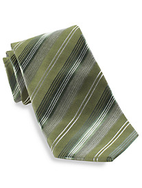 Geoffrey Beene® Office Edit Stripe Silk Tie