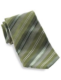 Geoffrey Beene® Office Edit Stripe Silk Tie