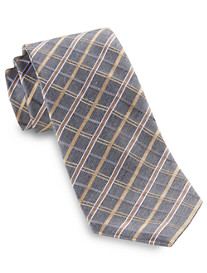 Geoffrey Beene® Plaid Territory Silk Tie