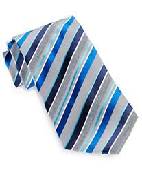 Geoffrey Beene® Office-Ready Stripe Silk Tie