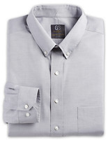 Gold Series® Wrinkle-Free Cool & Dry Solid Pinpoint Dress Shirt