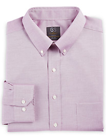 Gold Series Wrinkle-Free Cool & Dry Solid Pinpoint Dress Shirt