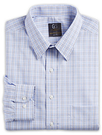Gold Series® Wrinkle-Free Cool & Dry Large Check Dress Shirt