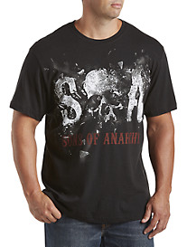 Sons Of Anarchy Skull Smash Graphic Tee