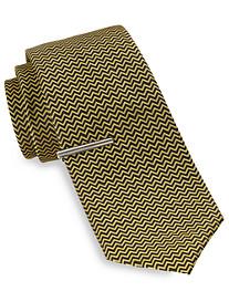 Gold Series Zig-Zag Geo Tie with Tie Bar