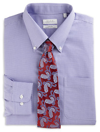 Enro® Herringbone Patterned Dress Shirt