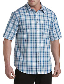 Synrgy™ Medium Plaid Sport Shirt