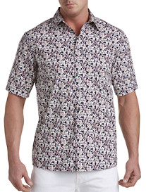 Synrgy™ Floral Print Sport Shirt