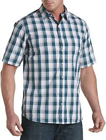 True Nation® Speckled Plaid Sport Shirt