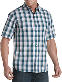 True Nation® Speckled Plaid Sport Shirt