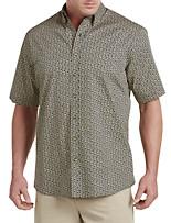 Harbor Bay® Batik Print Sport Shirt