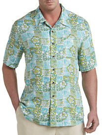 Island Passport® Batik-Print Camp Shirt