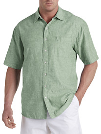 Oak Hill® Linen-Blend Sport Shirt